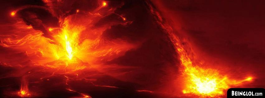 Volcano Pics Facebook Cover
