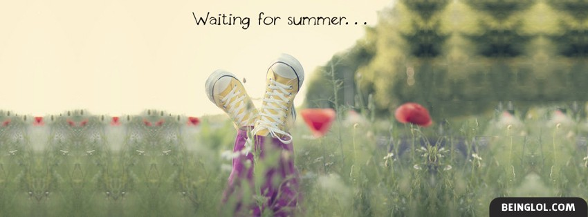 Waiting For Summer Facebook Cover