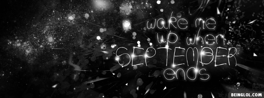 Wake September : Green Day Facebook Cover