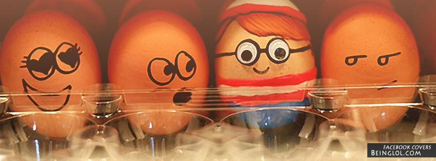 Waldo Egg Facebook Cover