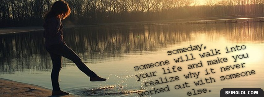 Walk Into Your Life Facebook Cover