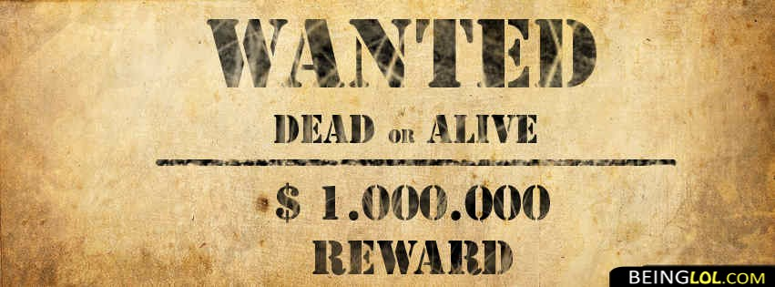 Wanted List Facebook Cover Facebook Cover