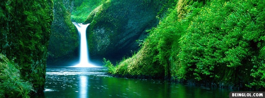 Waterfall Facebook Cover