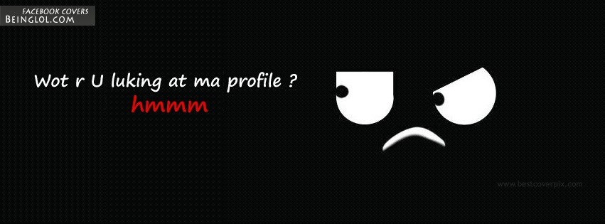 What Are You Looking ? Facebook Cover