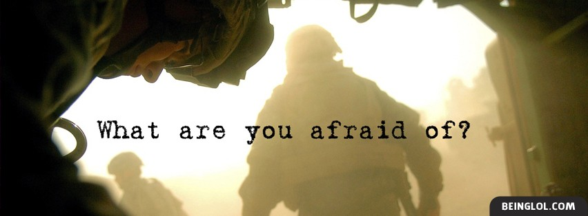 What are you afraid of? Cover