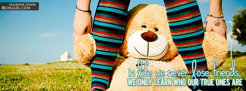 Who Our True Friends Are Facebook Cover