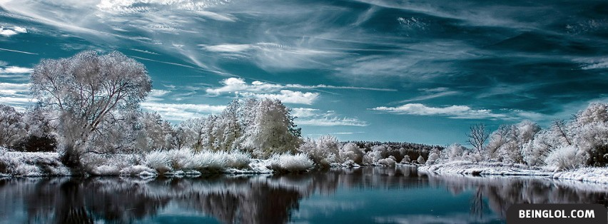 Winter Lake Facebook Cover