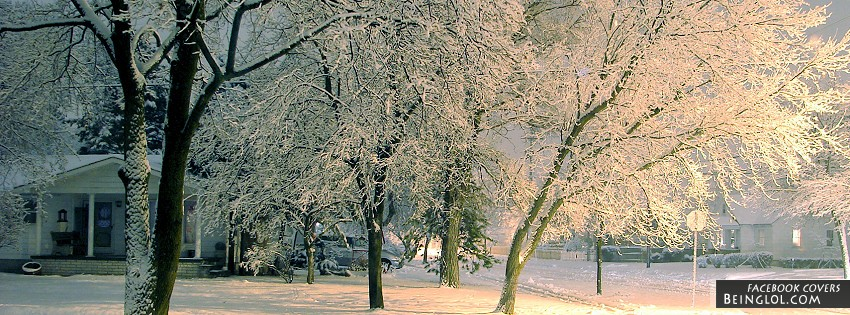 Winter Time Facebook Cover