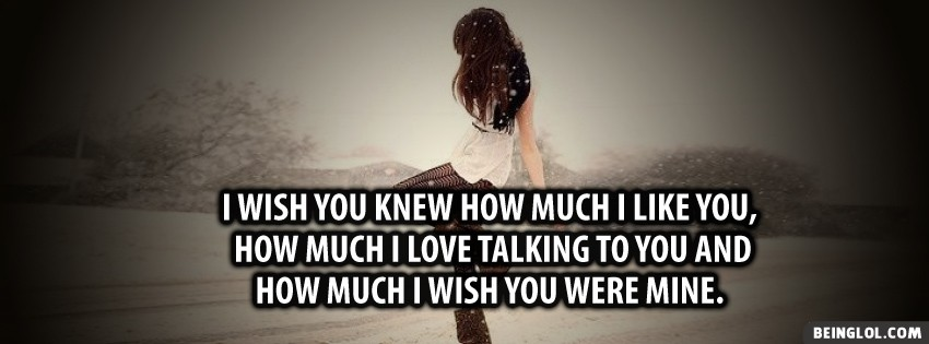 Wish You Knew Facebook Cover