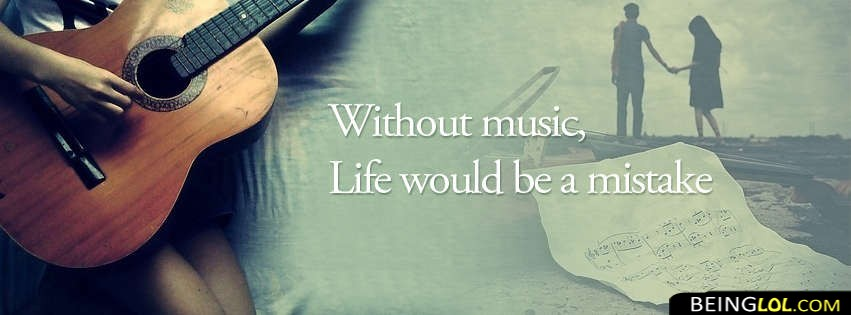Without Music Facebook Cover
