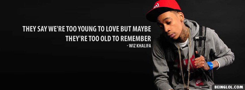 Wiz Khalifa Lyrics Facebook Cover timeline banner photo for fb - #1374