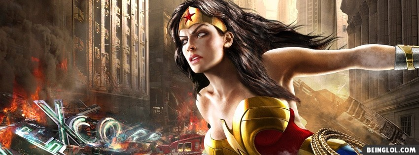 Wonder Woman Facebook Cover