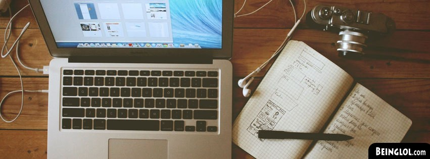 Working Desk Facebook Cover