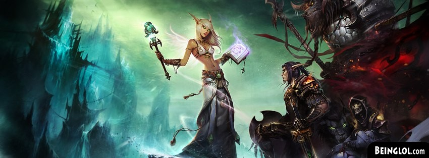 World Of Warcraft Fantasy Art Cover