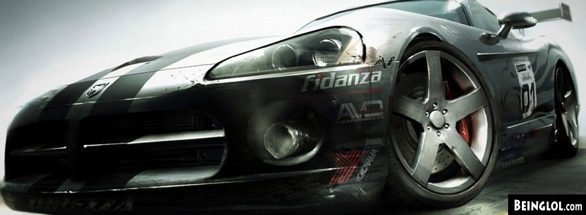 Ws Racing Car Facebook Cover