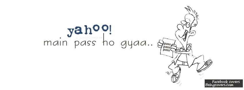 Yahoo Main Pass Hogya Facebook Cover