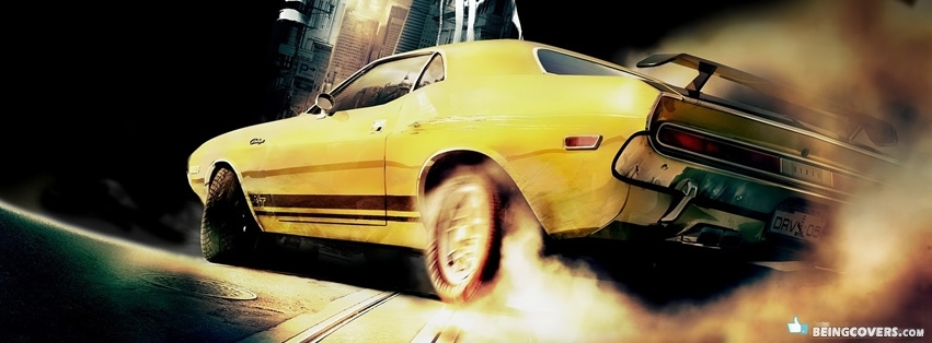 Yellow Muscle Facebook Cover