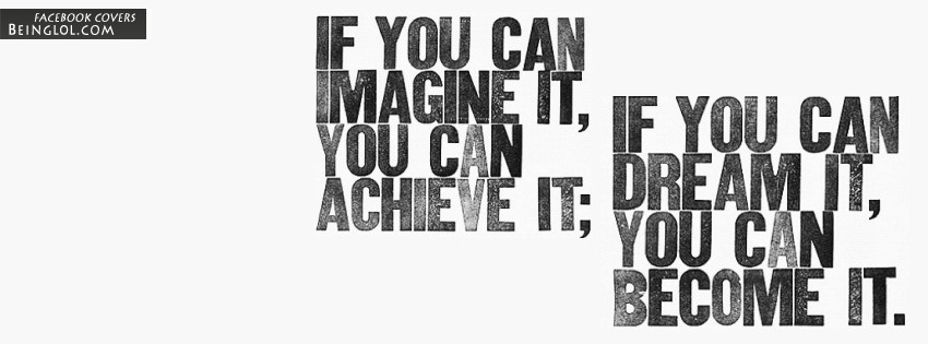 You Can Achieve It Facebook Cover