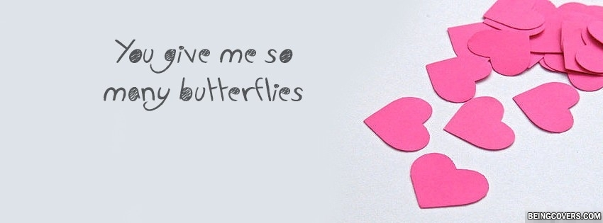 You Give me So Many Butterflies Cover
