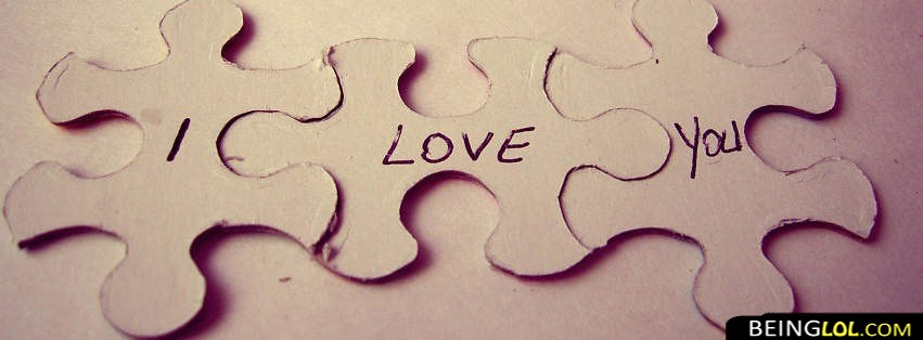 Zig Zag Love Puzzle Facebook Cover