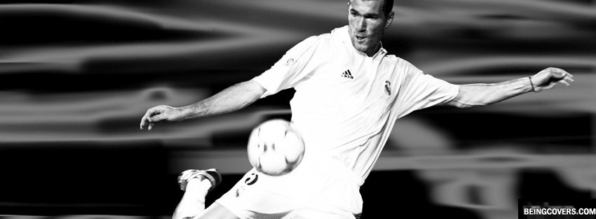 Zinedine Zidane Legend Player Facebook Cover
