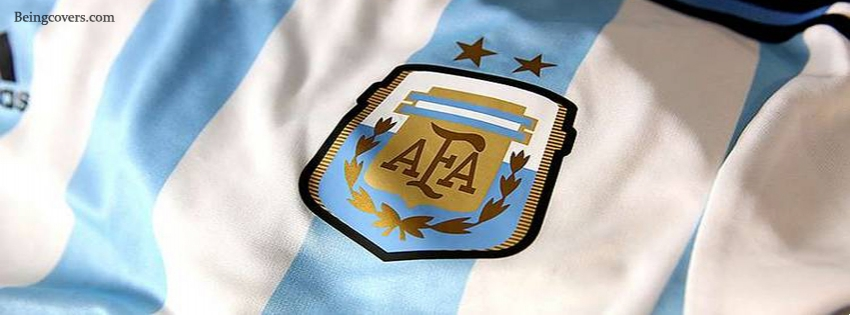 Argentina National Team T-shirt Facebook Cover