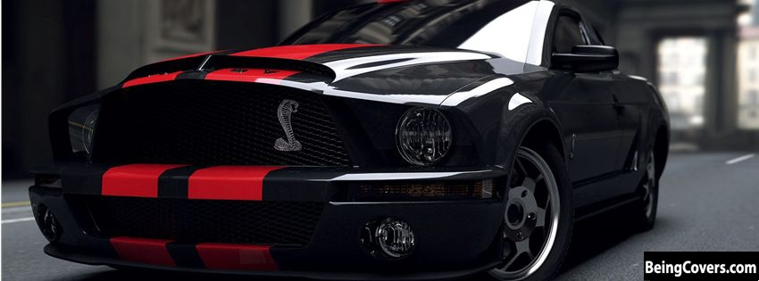 Black Mustang Facebook Cover