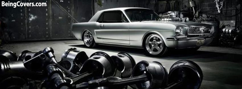 Classic Ford Mustang Facebook Cover