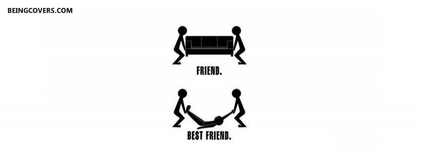 Friends Vs Best Friends Facebook Cover