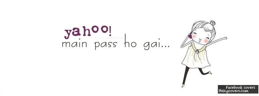 Yahoo Me Pass Hogyi Facebook Cover