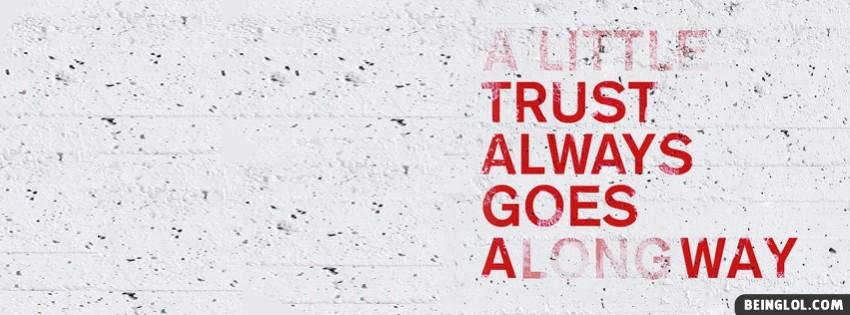 A Little Trust Facebook Cover