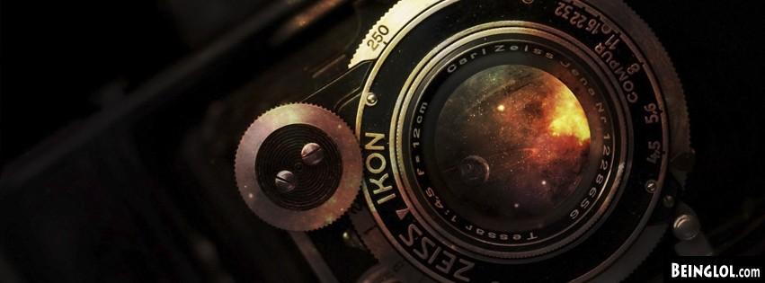 Abstract Galaxy Camera Cover