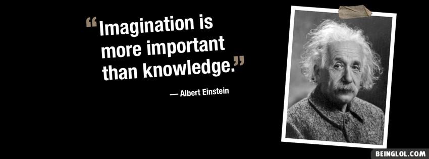 Albert Einstein Quote Facebook Cover