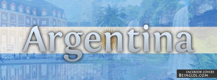 Argentina Flag Cover
