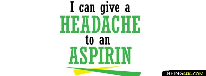 Aspirin  Attitude Facebook Cover