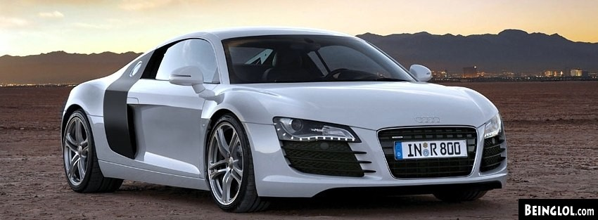 Audi R8 423 Facebook Cover