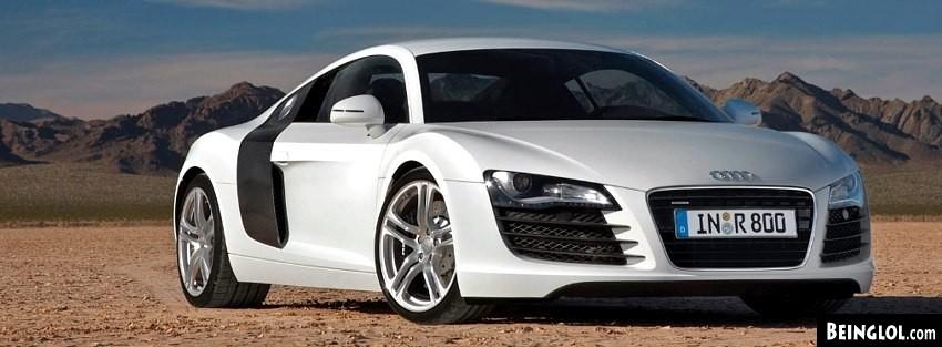 Audi R8 425 Facebook Cover