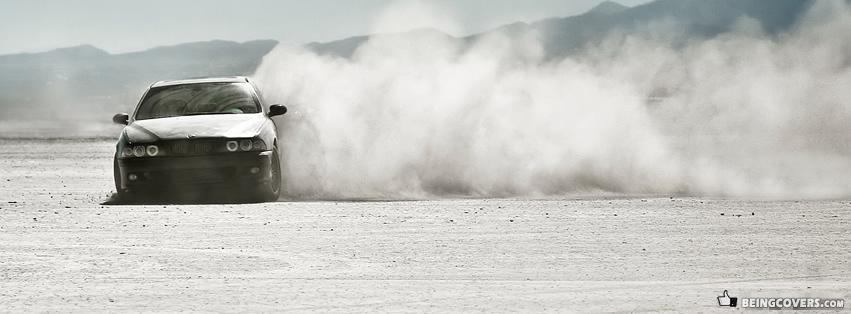 BMW m5 Desert Drifting Cover