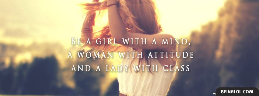 Best Girls Quote Facebook Cover