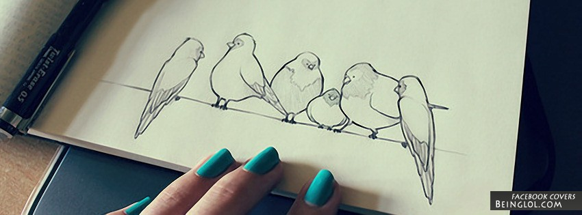 Bird Doodle Cover