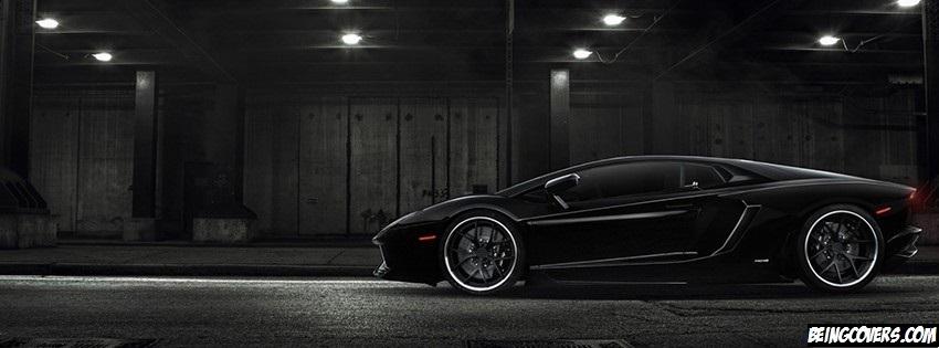 Black Lamborghini Cover