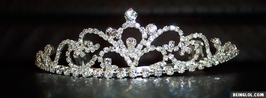 Bride Princess Crown Cover