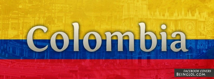 Colombia Flag Cover
