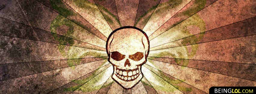 Colorful Skull Facebook Cover