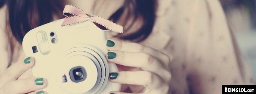 Cute Polaroid Camera Facebook Covers Cover