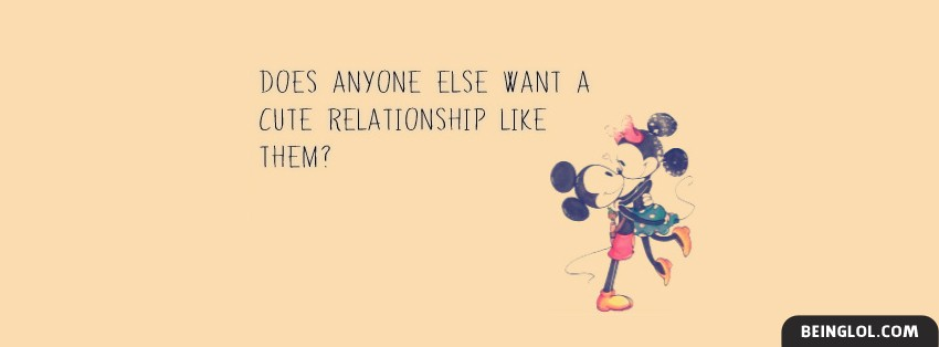 Cute Relationship Facebook Cover