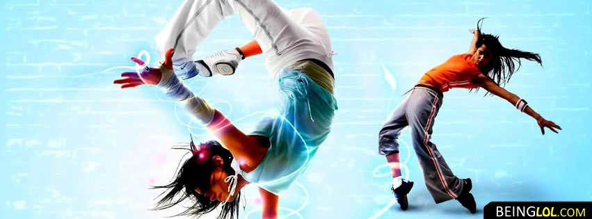 Dancing Cool Girls Facebook Cover