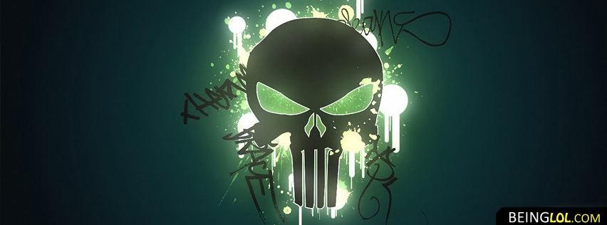 Deadly Skull Facebook Cover