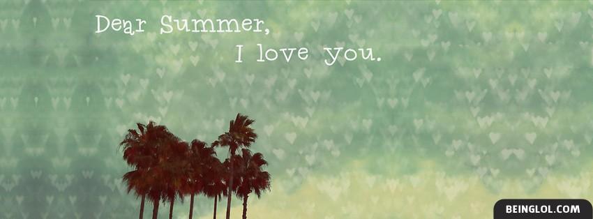 Dear Summer I Love You Cover