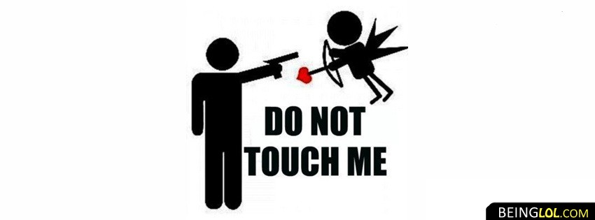 do not touch me valentine Cover